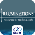 Icon for Illuminations Website from the National Council of Teachers of Mathematics.